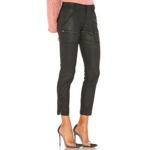 Joie Park Skinny B Coated Caviar Jeans